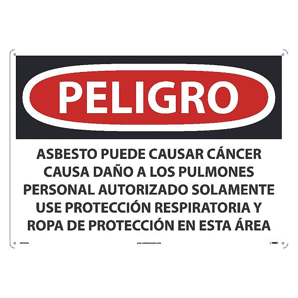 Nmc May Cause Cancer Causes Wear Respiratory Protection Sign, Spnsh SPD23AD