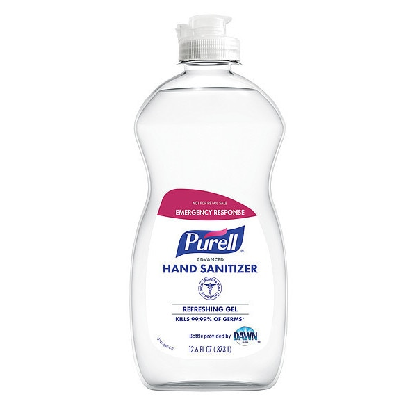 Purell Hand Sanitizer,  Gel,  12.6 oz.,  PK12 9747-12-S