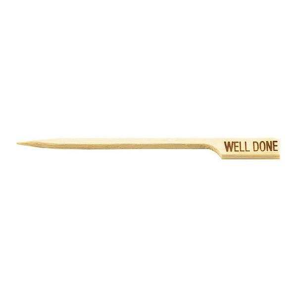 """Tablecraft Products Company Picks, Well Done Paddle, 3-1/2"""", PK100 WELLDONE"""
