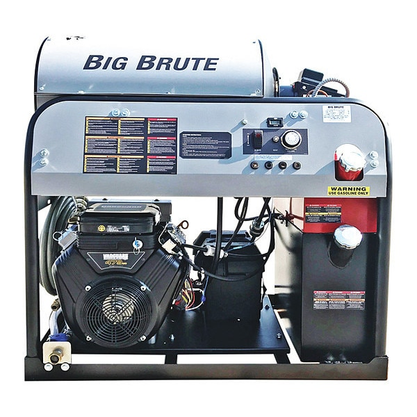 Simpson Heavy Duty 4000 psi Hot Water Pressure Washer,  Pressure Washer Flow Rate: 4 gpm BB65105