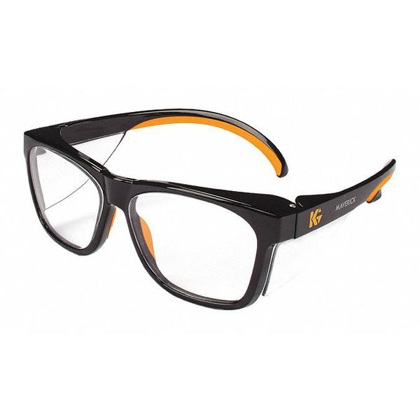 Kleenguard Safety Glasses,  Traditional Clear Polycarbonate Lens,  Anti-Reflective 49312