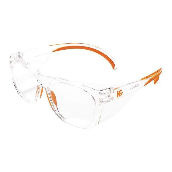 Kleenguard Safety Glasses,  Traditional Clear Polycarbonate Lens,  Anti-Fog 49301
