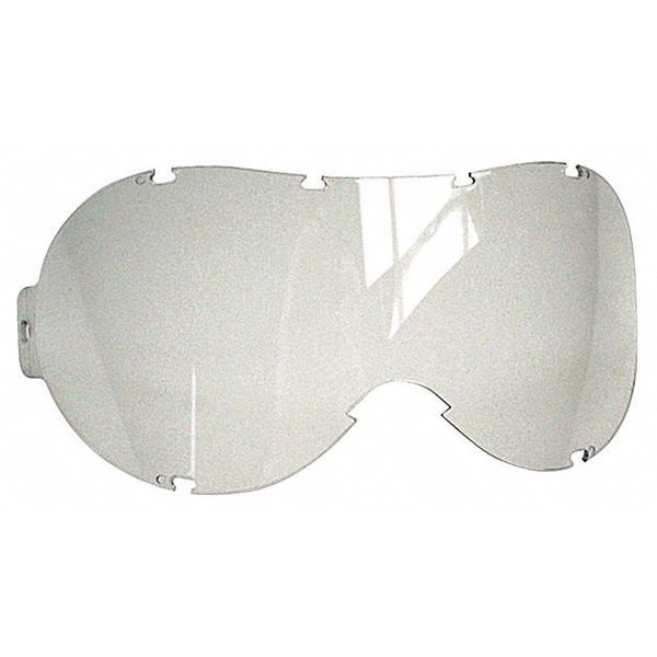 Ansell Safety Goggles,  Clear Anti-Fog,  Scratch-Resistant Lens,  BioClean Series,  100PK BCAG-SL