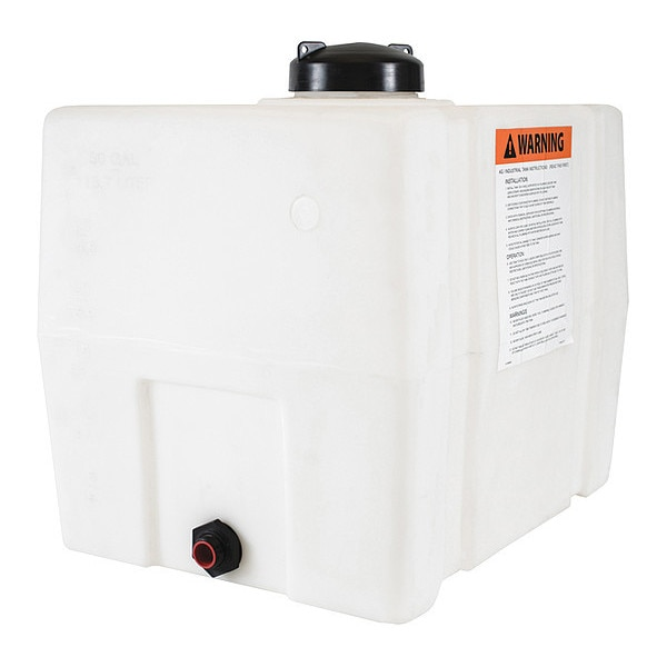 Buyers Products Storage Tank,  Square,  30 gal. 82123909