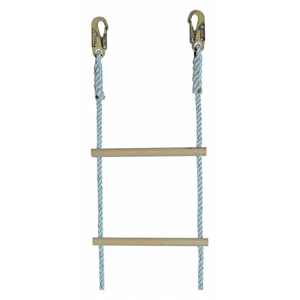 Gemtor Ladder, Nylon Rope, 5155 Hooks 40ft. 322-40S