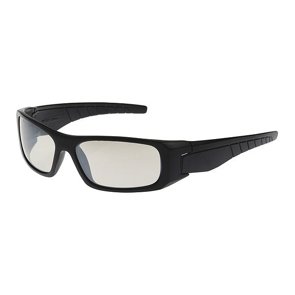 Pip Safety Glasses,  Blue Mirror Scratch-Resistant 250-53-0022