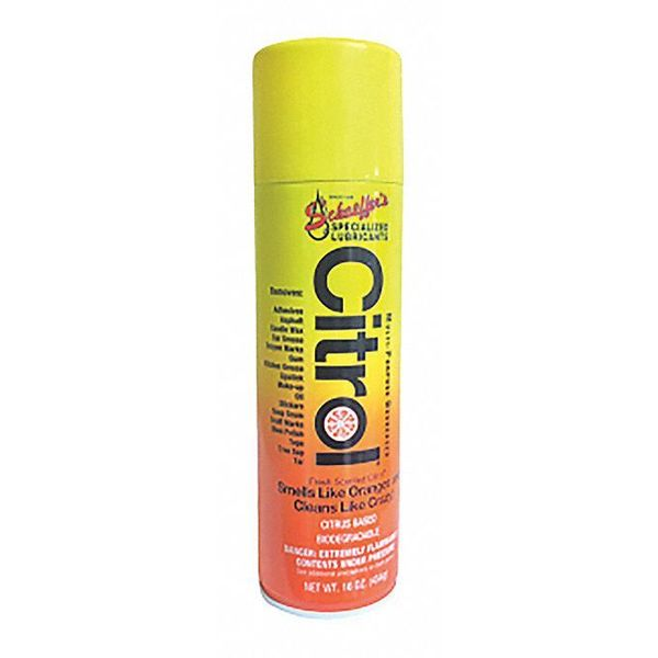 Schaeffer Manufacturing Citrol, Cleaner and Degreaser, 16 oz. 00004