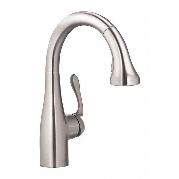 Hansgrohe Single Handle Commercial/Residential Stainless Steal 04297800