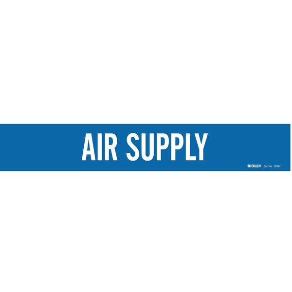 Brady Pipe Markr, Air Supply, Bl, 2-1/2to7-7/8 In 7010-1