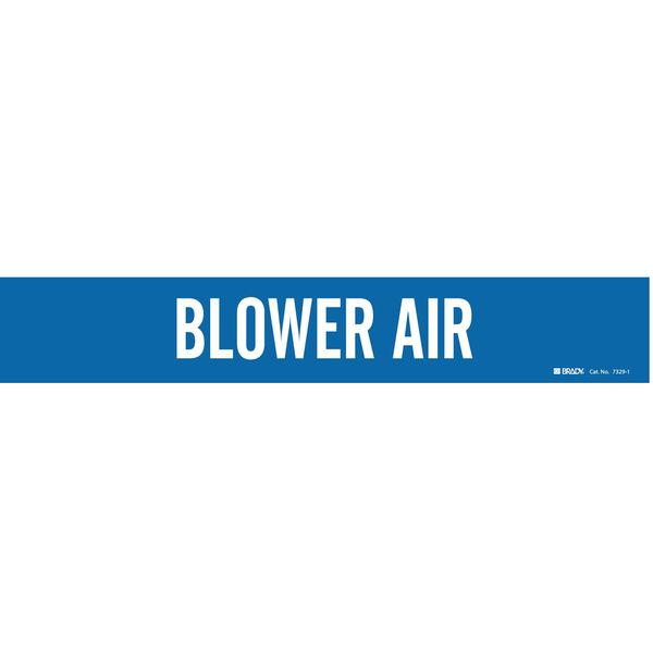 Brady Pipe Markr, Blower Air, Bl, 2-1/2to7-7/8 In 7329-1