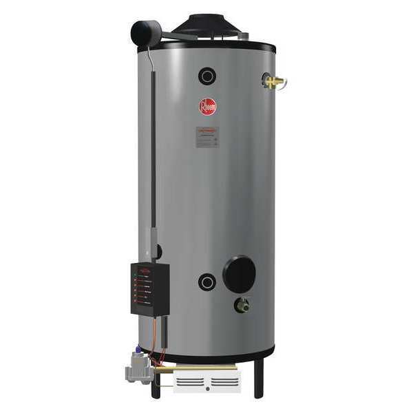 Rheem-Ruud Natural Gas Commercial Gas Water Heater,  100 gal.,  120V AC G100-200