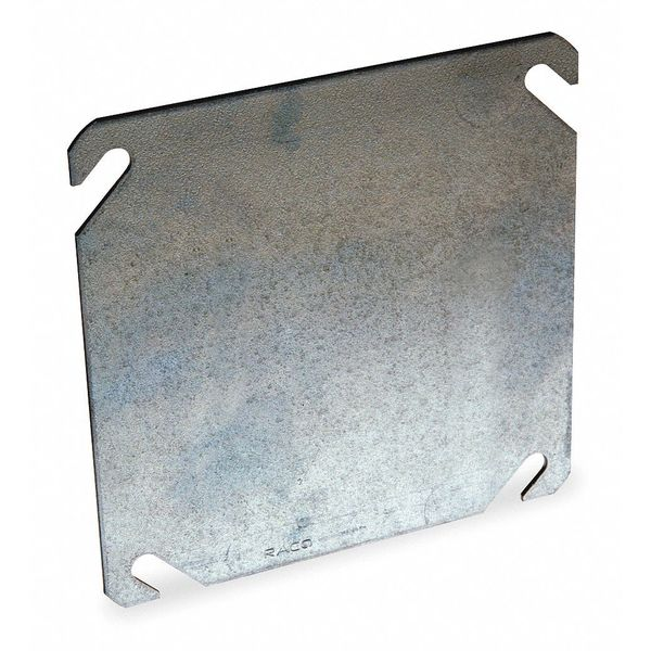 """Raco Square Electrical Box Cover 4-1/8"""" x 4-1/8"""" x 1/8"""" 752"""