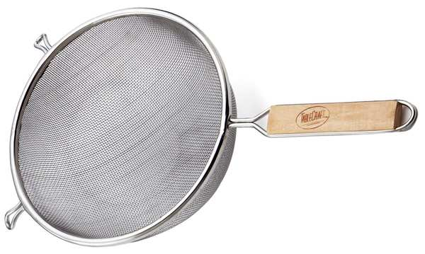 Tablecraft Products Company Mesh Strainer, Dia. 6 1/4 In 86