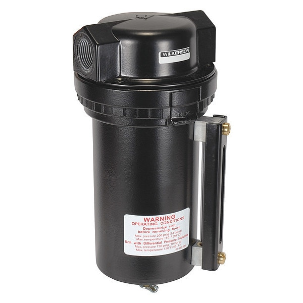 Wilkerson Compressed Air Filter, 200 psi, 4.8 In. W F30-06-G00