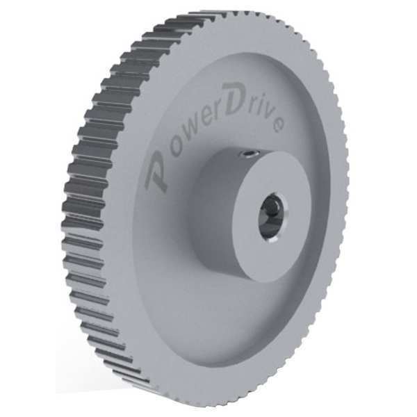 Power Drive GearbeltPulley, XL, 72 Grooves 72XLB037-6WA