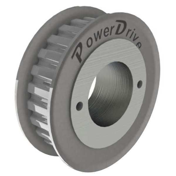 Power Drive Gearbelt Pulley, H,  26 Grooves 26HH100