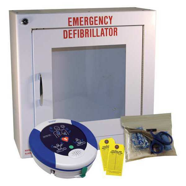 First Voice Automated External Defibrillator, 8 In. H HS001F
