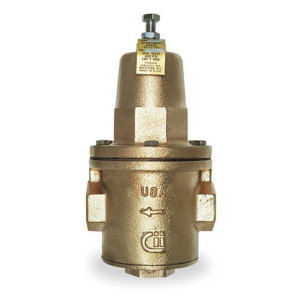 Apollo Water Pressure Reducing Valve, 1-1/4 In. 36H20601