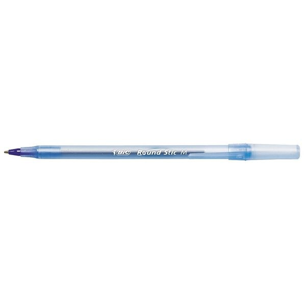 Bic Stick Ballpoint Pen,  Medium 1.0 mm,  Blue PK12 BICGSM11BE