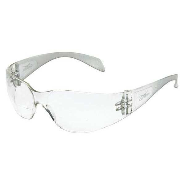 Condor Reading Glasses,  +1.25,  Clear,  Plycrbnt,  Series: SL-A Reader 6PPC1