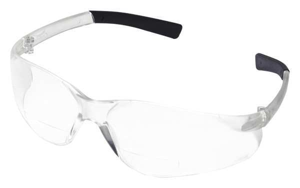 Condor Reading Glasses, +2.5, Clear, Polycarbonate 6PPA8