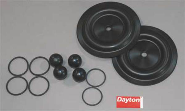 Dayton Pump Repair Kit, Fluid 6PY71