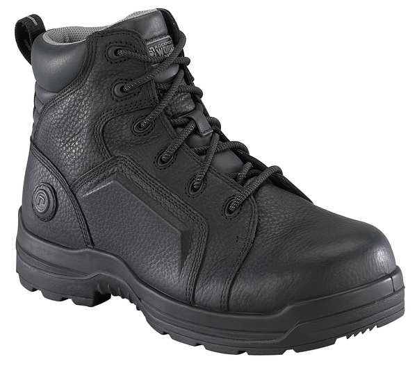 Rockport Works Size 11-1/2 Men's 6 in Work Boot Composite Work Boot,  Black 6635