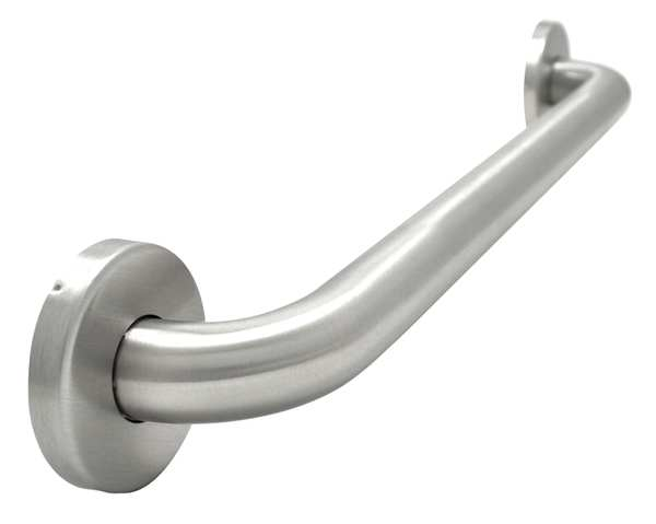 Wingits 36 in Length,  Smooth,  Stainless Steel,  Grab Bar,  Satin WGB5SS36