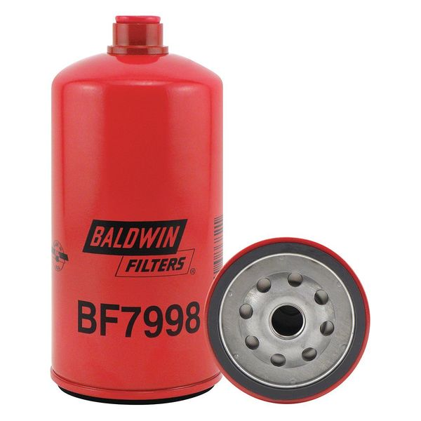 Baldwin Filters Fuel Filter, 6-1/2 x 3-1/32 x 6-1/2 In BF7998