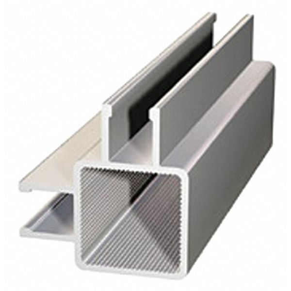 Faztek Framing Extrusion, Double Channel, L 96 In 13FT9030-96