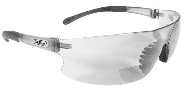 Radians Reading Glasses, +2.0, Clear, Polycarbonate RSB-120