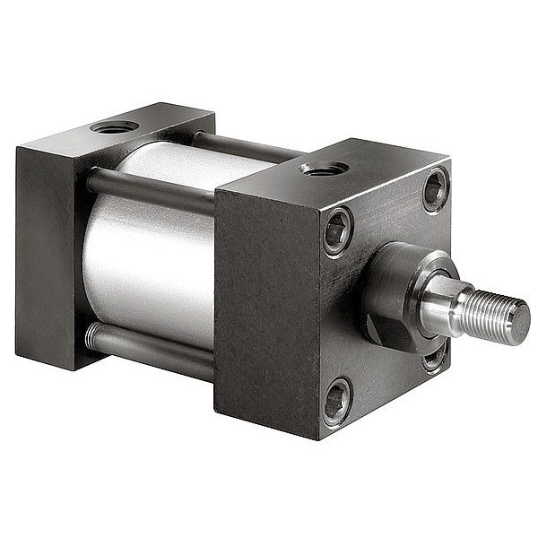 """Speedaire 1-1/2"""" Bore Double Acting Air Cylinder 4"""" Stroke 6X373"""