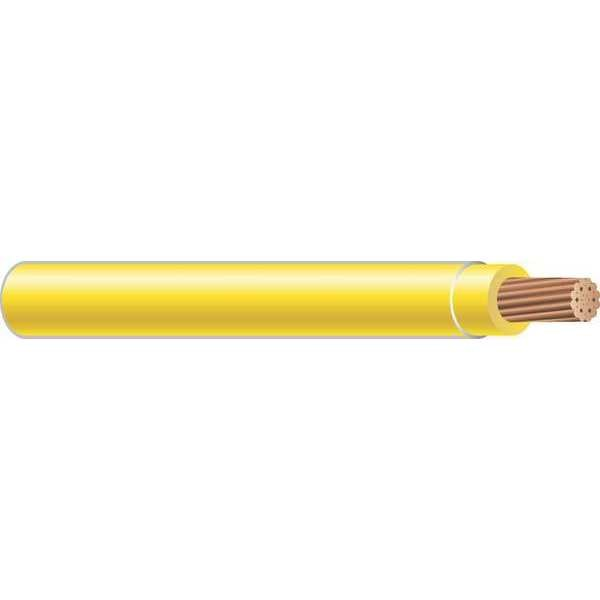 Southwire Building Wire, THHN, 10 AWG, Yellow, 2500ft 22978106