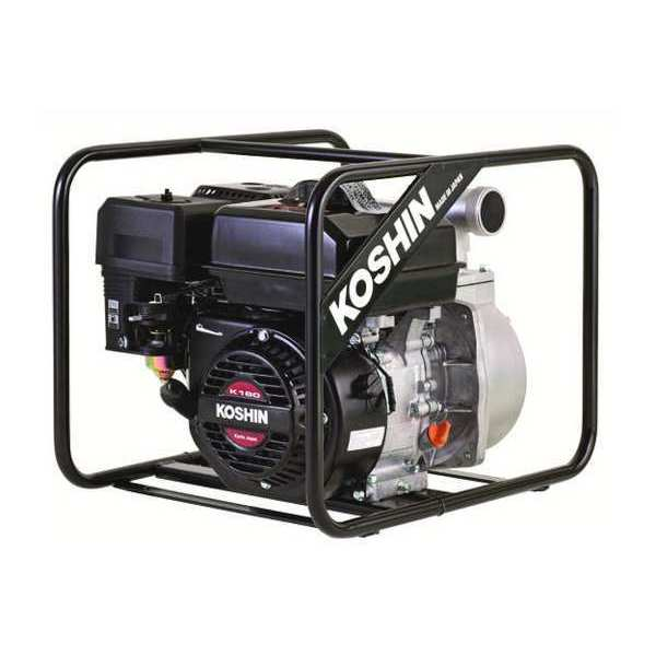 Engine Driven Pump, 6 HP, 3 In