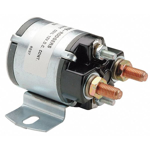 White-Rodgers DC Power Solenoid, 12V, 100A 124-105111
