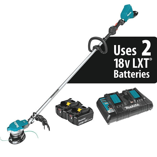 Makita Line Trimmers and Brush Cutters,  18V X2 XRU15PT