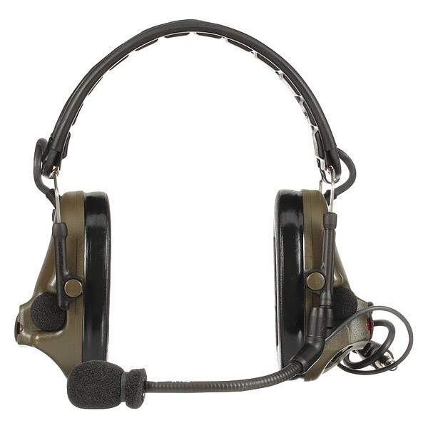 3M Tactical Headset, Foldable, Green MT20H682FB-47 GN