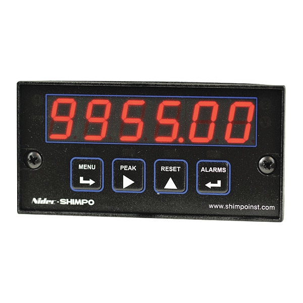 Shimpo Panel Counter, Quadrature Input PC-QDE-00AC0