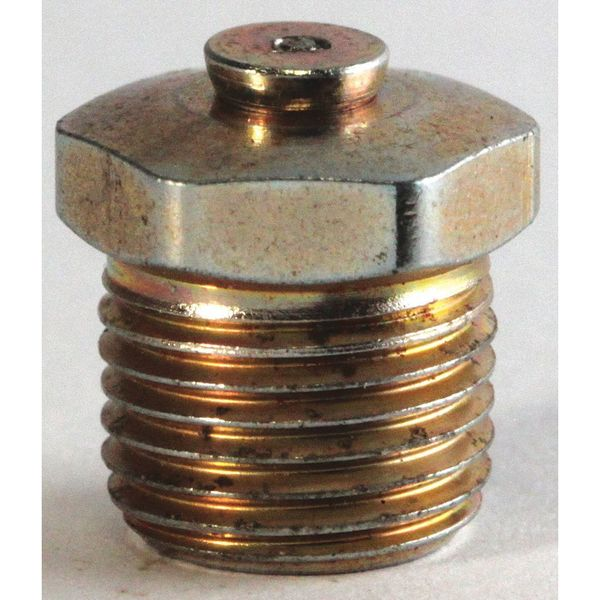 Alemite A47200 2 69 Grease Fttng Relief Top Vent 1 5psi 1 8 Zoro Com