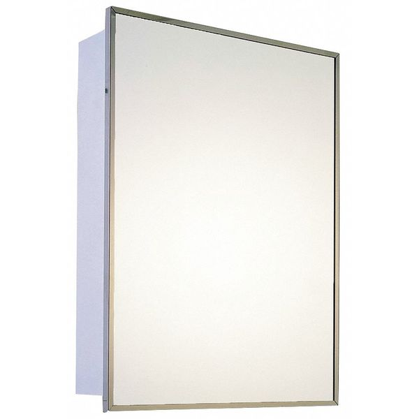 """Ketcham 18"""" x 24"""" Deluxe Surface Mounted SS Framed Medicine Cabinet 174-SM"""