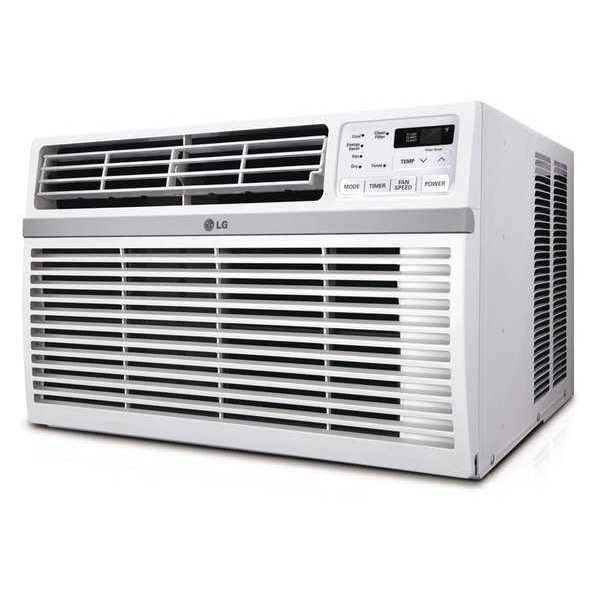 Lg Window-Mounted Air Conditioner,  Cool Only,  10,000 BtuH LW1016ER