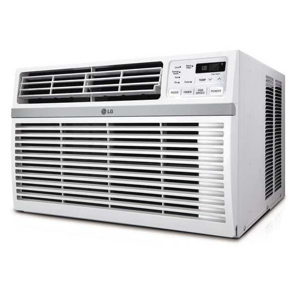 Lg Window-Mounted Air Conditioner,  Cool Only,  8000 BtuH LW8016ER