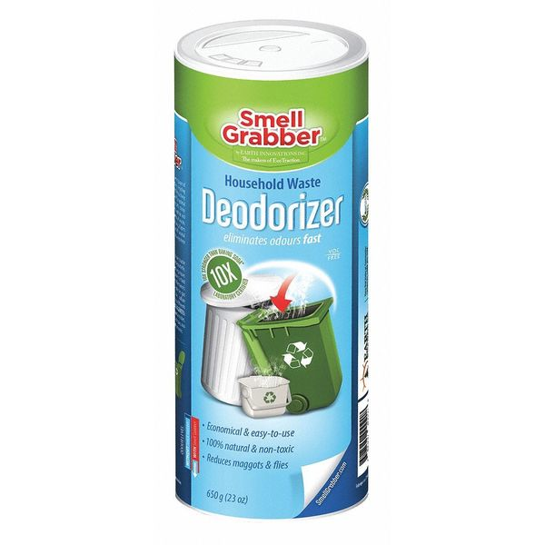 Smell Grabber Deodorizer, All Natural, Multi-Use, PK18 SG650HD