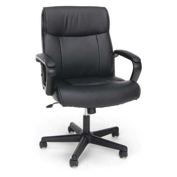 Ofm Inc Chair with Arms, Leather, Reclinable ESS-6010