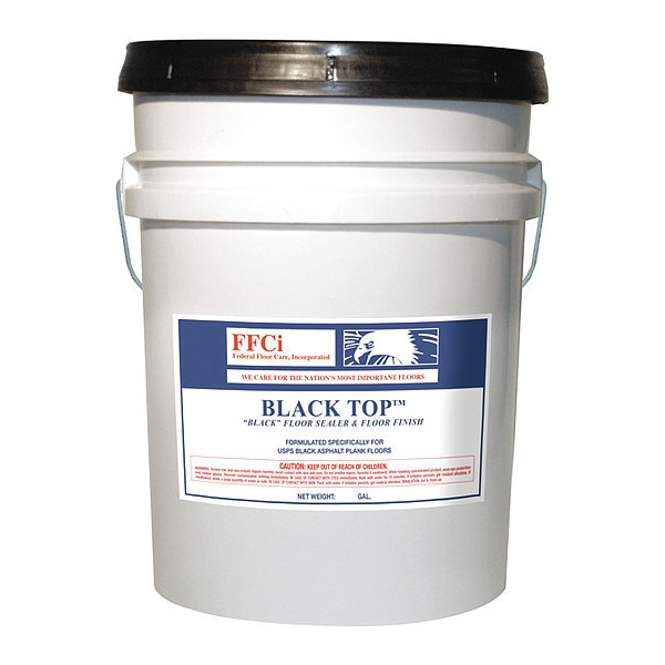 Federal Floor Care Inc Black Floor Sealer/Finish, 5 gal. Pail 19538