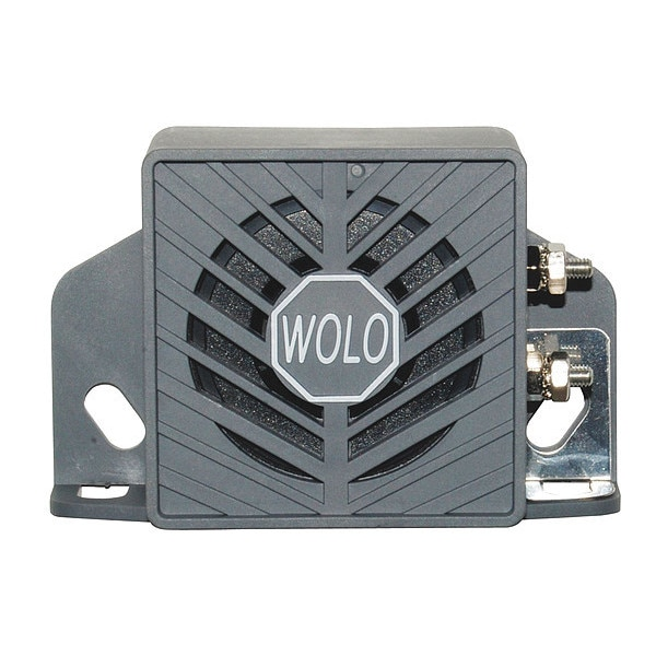 Wolo Back Up Alarm, Heavy Duty, White Noise BA-197WN