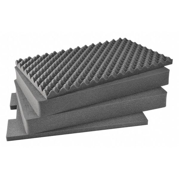 Pelican Products Inc. Replacement Foam Set for 1610 1611