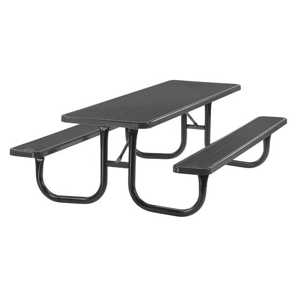 Ultrasite Park Rectangular Table,  Portable,  6ft,  Blue 238-V6