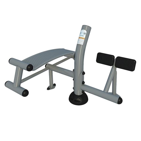 Action Fit Inground Sit-Up/Back Extension Up168