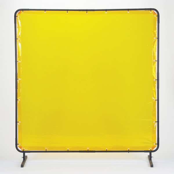 """Tmi Weld Screen Replacement, Yellow, 8x8"""" WS53-0808R"""